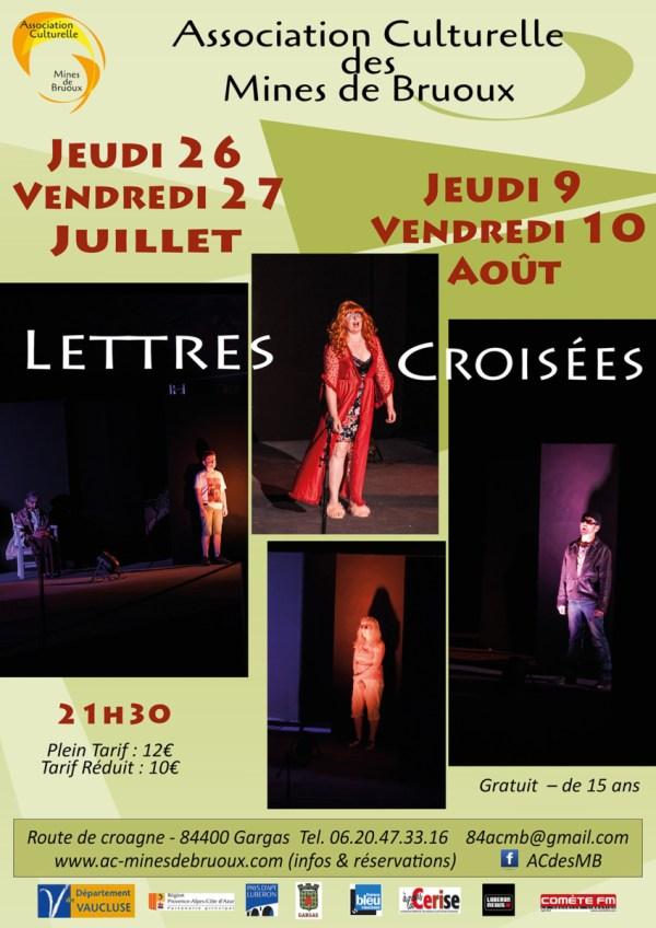 Théâtre Lettres-croisées 2018