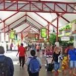 デンパサール国際空港国内線ターミナル出発階における火災発生に伴う注意喚起