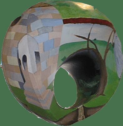 Surrealisme, 3-D, maleri,frithængende skulpturelt maleri