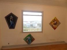 Kunstudstilling, surrealisme, A.C.Rosmon, maleri