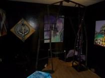 Kunstudstilling, surrealisme, A.C.Rosmon, lysportal