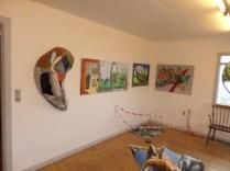 Kunstudstilling, surrealisme 3-D, A.C.Rosmon
