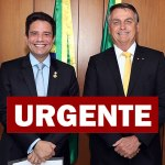 Bolsonaro liga para Gladson ir a São Paulo buscar primeiro lote da vacina contra Covid-19