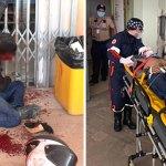 Policial reage a assalto e deixa criminoso em estado grave com tiro na cabeça