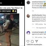 Página de Zé Neto e Cristiano compartilha vídeo de acreana cantando música para a polícia