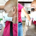 Carioca do PT recebe 2ª dose de vacina contra Covid-19 e manda recado a Bolsonaro