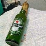 Jovem que enfiou garrafa no ânus recebe alta do Pronto-Socorro após retirada do objeto