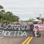 Presidente do PT no Acre lidera manifestação contra Bolsonaro na Ponte do Madeira