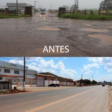 Parque Industrial antes e depois 2