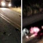Colisão de motocicleta em caminhão deixa vítima fatal na estrada de Sena Madureira