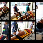 Adolescente fica em estado grave e 4 pessoas feridas em acidente na estrada de Sena Madureira