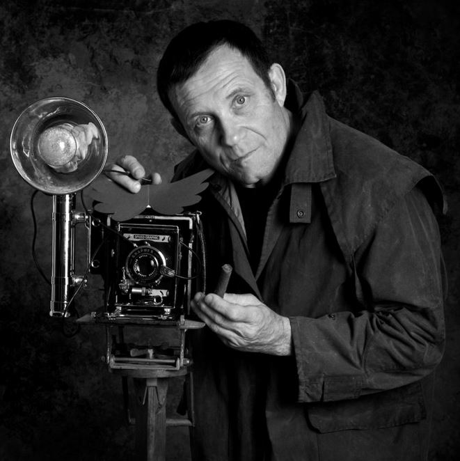 Irving Penn, autoportrait