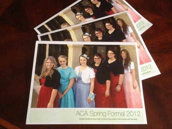 ACA 2012 Spring Formal Photo Books