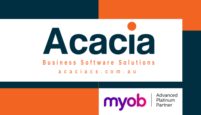 Acacia Consulting Services is an MYOB Advanced Platinum Partner