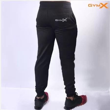 Conquer Vantage Sweatpants- Jet Black on Acacia World BAck