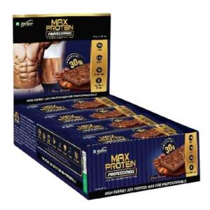 RiteBite Max Protein Professional MRP Bar - Choco Almond (Pack of 12)