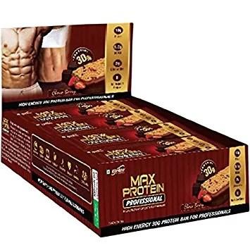 RiteBite Max Protein Professional MRP Bar - Choco Berry (Pack of 12)