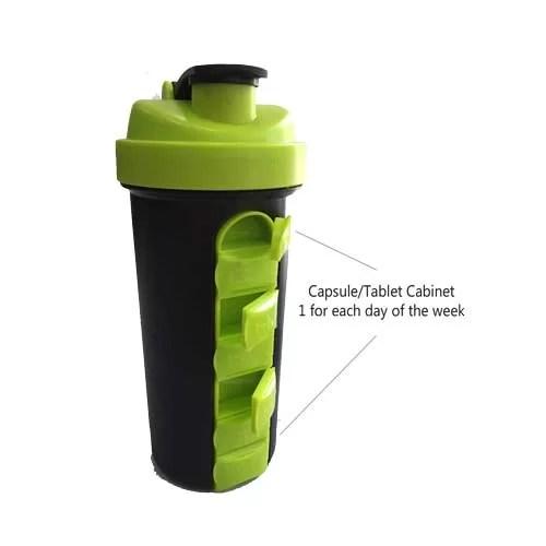 Capsule Cabinet Shaker Bottle