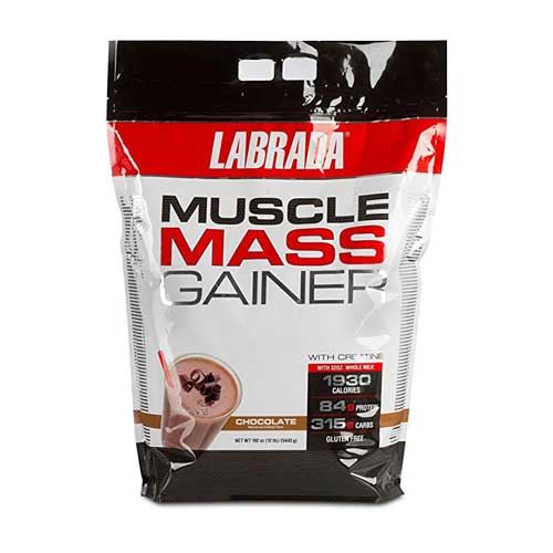 Labrada Mass Gainer 12 Lb Acacia World