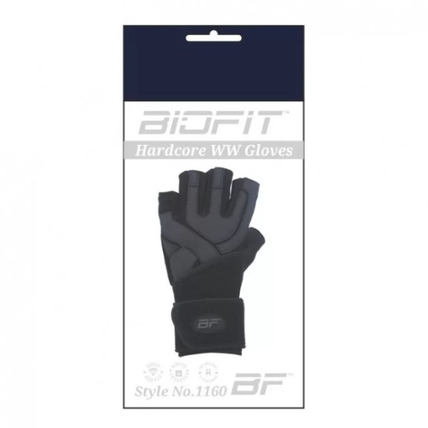 BioFit™ Hardcore Wrist Wrap Gloves for Men-866