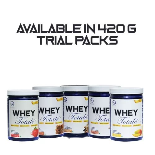 Trial Packs for Whey Totale