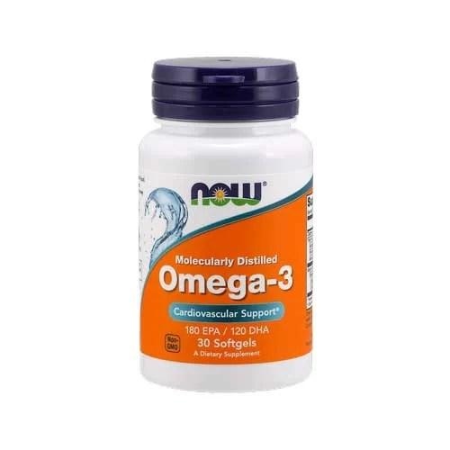 Now Foods Omega 3 - 100 Softgels
