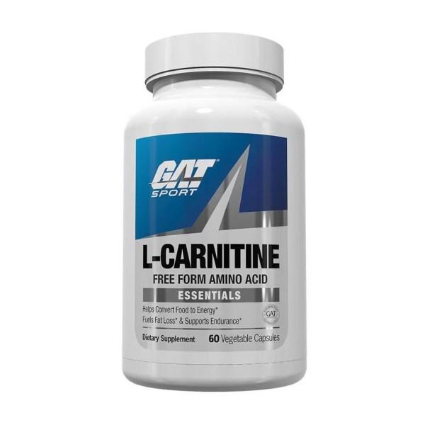 GAT L Carnitine 60 Capsules