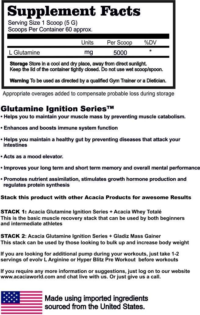 Glutamine-Ignition-Series-300-G-supplement-facts