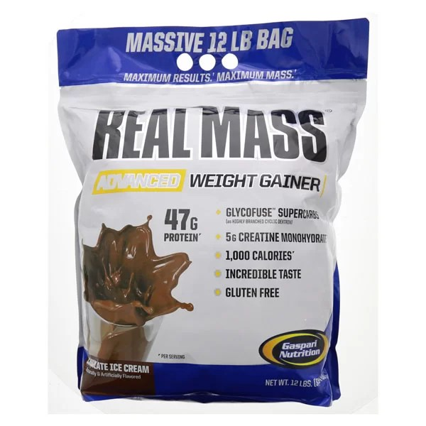 Gaspari Real Mass Advanced Mass Gainer