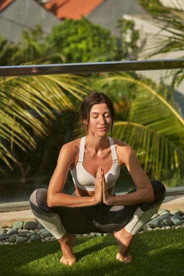 Malasana yoga posture asana