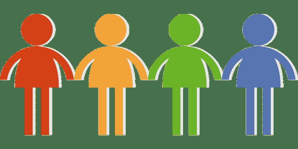 community, crowd, group