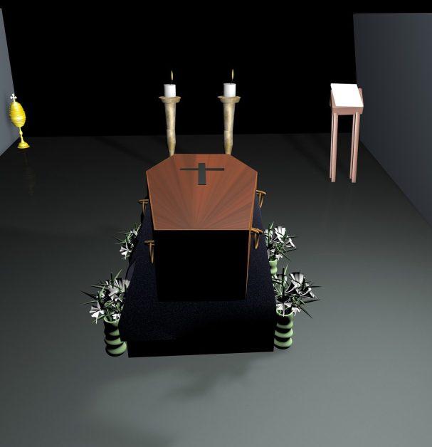 coffin, funeral, encoffining