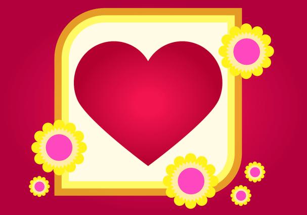 card, romantic, greeting card