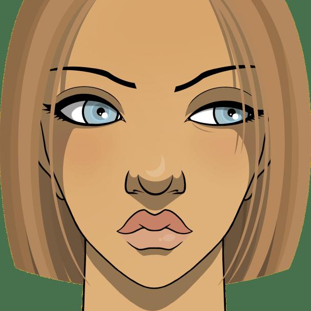 woman, short hair, suspicious-6295102.jpg