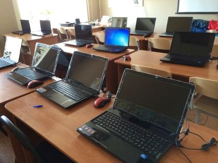 Компьютерный класс в Академии ДПО