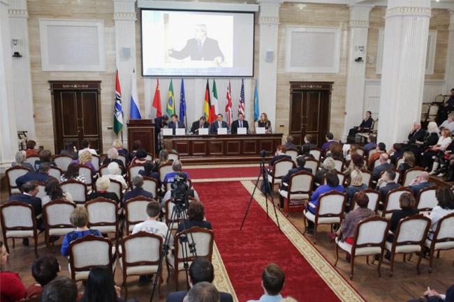 Церемония вручения премии «Лучшие товары и услуги России - ГЕММА»