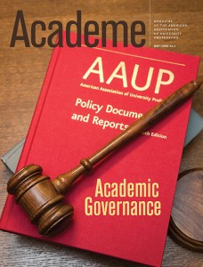 New Academe Calls on Faculty to Reclaim Governance Role | ACADEME BLOG