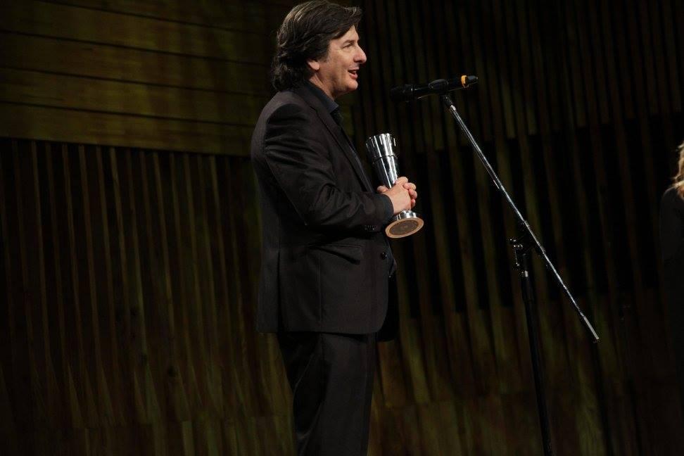 Andrés Duprat recibe el premio a Mejor Guión Original - El Ciudadano Ilustre