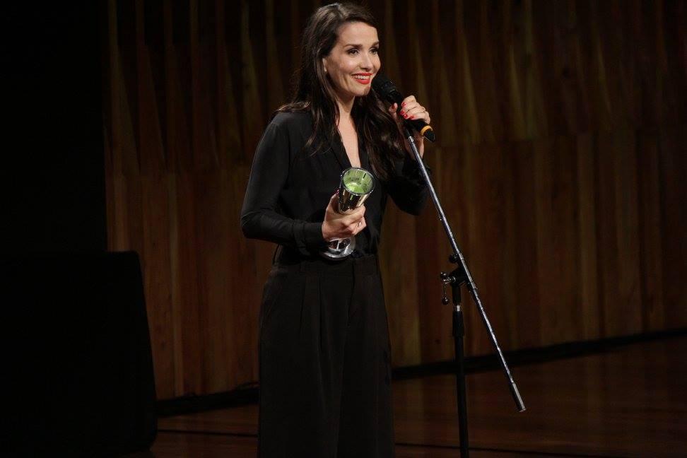 """Natalia Oreiro recibe el premio a Mejor Actriz Protagónica por """"Gilda, no me arrepiento de este amor"""""""