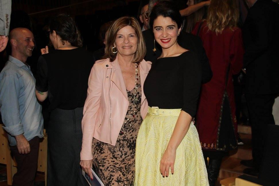 Teresa Constantini y Erica Rivas