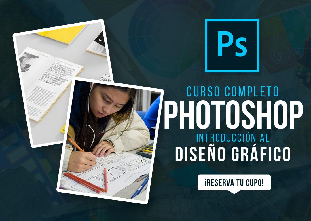 Portada de nuestro Curso de Photoshop en Santo Domingo