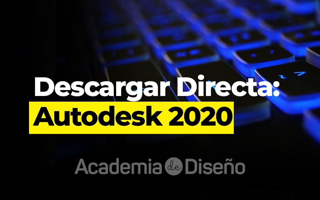 Descarga Directa: Autodesk 2020