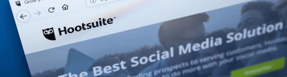 Hootsuite programación de Community Manager