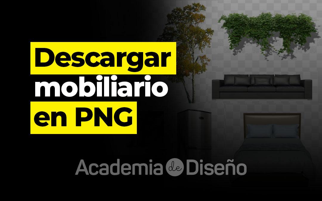 Descargar mobiliario en PNG
