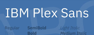 descargar-tipografias-ibm-plex-sans