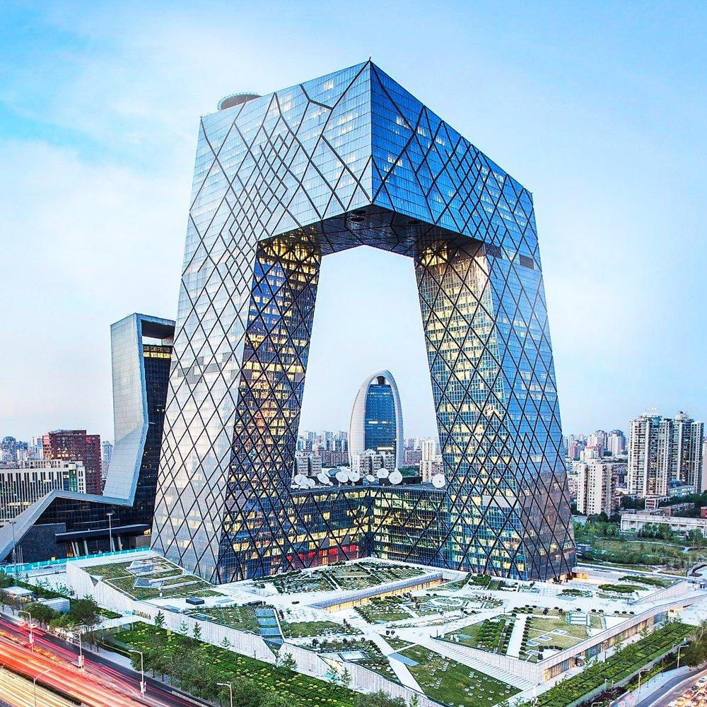 sede-de-la-television-central-de-china-rem-koolhaas-estilos-arquitectonicos