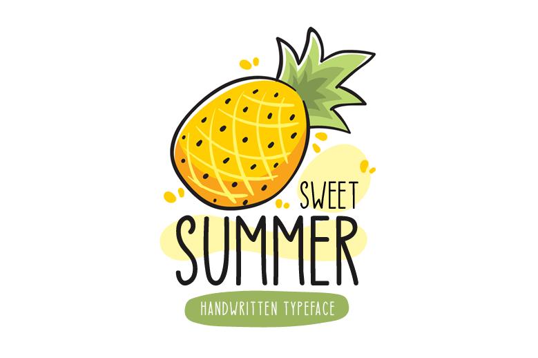 Las mejores fuentes gratis para descargar sweet summer