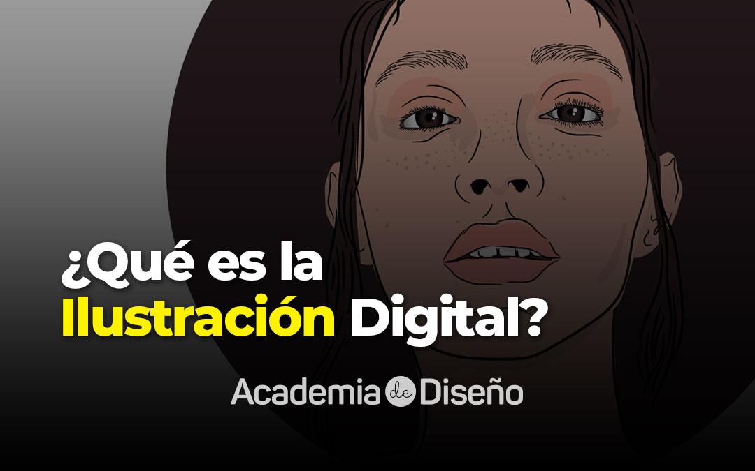 Qué es la ilustración digital