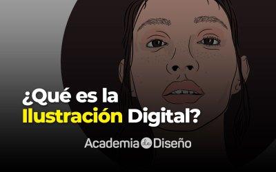 ¿Qué es la ilustración digital?