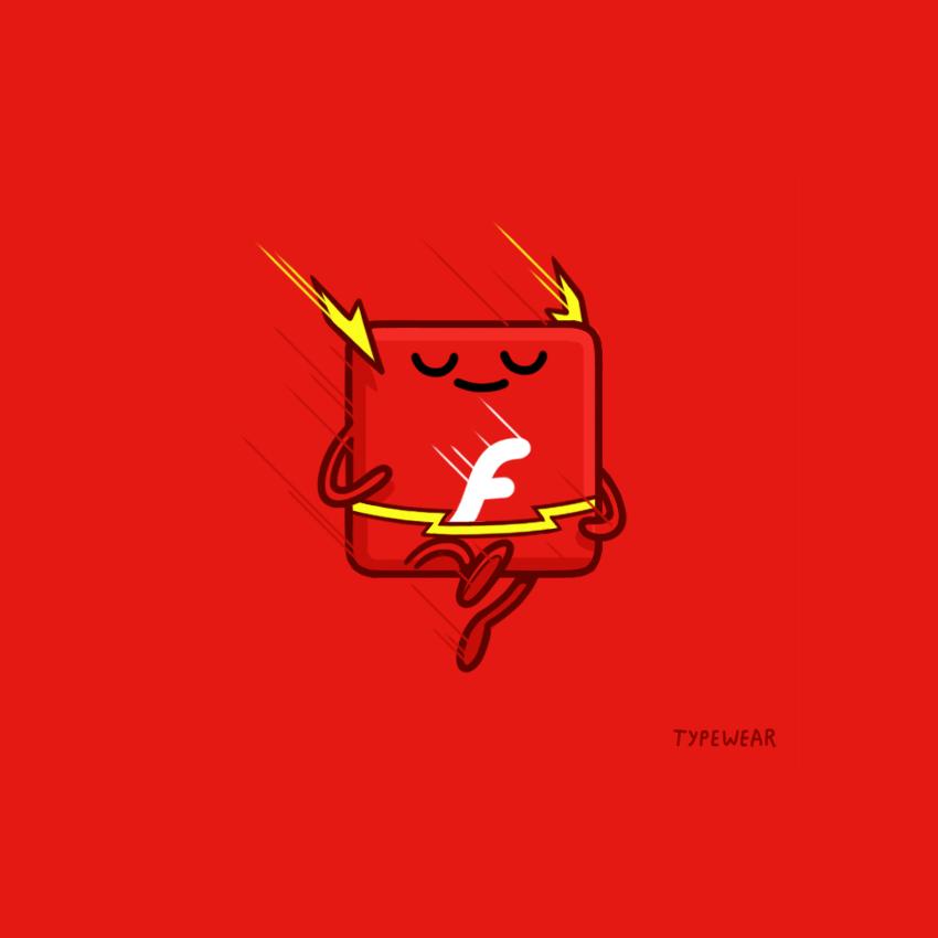 flash typewear